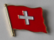 Switzerland Country Flag Enamel Pin Badge